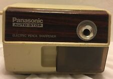 Vtg Panasonic KP-110 Electric Pencil Sharpener Matsushita Electric Japan 1.2 Amp