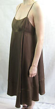 Scanlan and Theodore Size 10 Brown Designer Dress