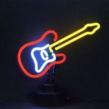"""Electric Guitar Art Light Neon Sculpture 14""""x12"""""""