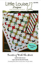 Twisting With the Stars Pattern by Little Louise Designs - Layer Cake/Jelly Roll