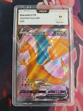 Carte Pokémon PCA 10 Dracaufeu V Full Art SWSH050 EB3.5 La Voix du Maitre Fr