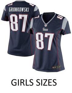 Rob Gronkowski New England Patriots Nike Youth Girls Game Jersey - Navy