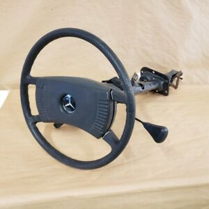 Mercedes Benz 240 240D Original Steering Wheel Column Assembly OEM