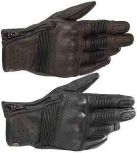Alpinestars Rayburn v2 Motorcycle Gloves Summer Leather Gloves Vintage