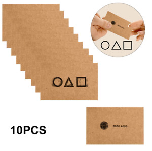 Squid Game 10 Piece Pack Cards Business Cards Invitation TV 10pc Halloween 9'6cm