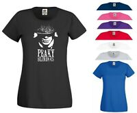 Peaky Blinders T Shirt The Shelby Brothers Birthday Xmas Gift Women Ladies Top