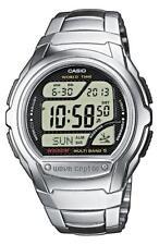 Casio Wave Ceptor Funkuhr WV-58DE-1AVEF Digital Silber