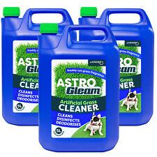ARTIFICIAL GRASS CLEANER FAKE ASTRO TURF LAWN DEODORISER PET DISINFECTANT 3 x 5L