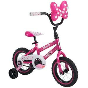 "Disney Minnie Mouse 12"" Girls Bike By Huffy"