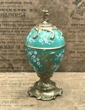 Franklin Mint House of Faberge Musical Egg Jasmine Tfm Tchaikovsky