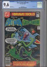 Brave and the Bold #155 CGC 9.6 1979 Green Lantern App, Jim Aparo Art: New Frame