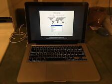"""Apple A1278 MacBook Pro 13"""" 2.4GHz 500GB HD 8GB OSX High Sierra AS-IS"""