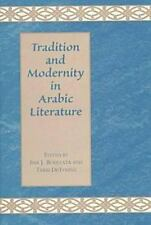 TRADITION & MODERNITY IN ARABIC LITERATURE-ExLibrary