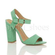 Scarpe da donna blocchetti verdi tacco alto ( 8-11 cm )