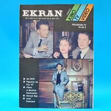 EKRAN 1532 | 16.-22.10.1987 | VR Polen FF Dabei | Jose Feliciano Jodie Foster