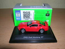 Welly Ford Mustang GT rojo red metal modelo/año de fabricación 2005, 1:87 h0