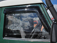Land Rover Defender & Series 2 & 3  Front Door Wind Deflectors Set of 2  DA6078