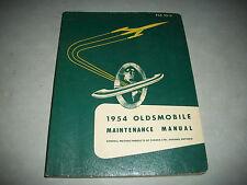 ORIGINAL 1954 OLDSMOBILE SHOP  MAINTENANCE SHOP  MANUAL 88 SUPER 88 98 CLEAN