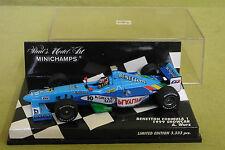 Minichamps - Benetton Formula 1 1999 - Showcar - A. Wurz - Limited Edition