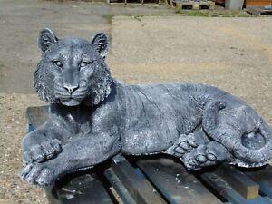 tiger garden statue