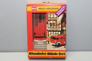Busch 5924 Flashing Blue Light Gauge H0 Boxed