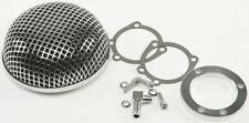 HardDrive Retro Round Mesh Air Cleaner Filter Each For Harley-Davidson 34-229