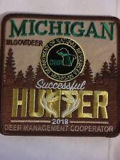 2018 Michigan DNR Successful Deer Hunter - Hunting Patch—free Shipping
