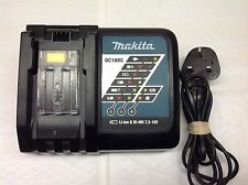 MAKITA DC18RC 7.2-18 volt battery charger used good working order cooling fan