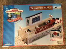 Learning Curve Thomas Train Wooden Clickety Clack Transfer Table! New