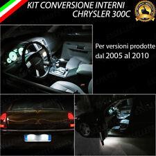 KIT FULL LED INTERNI CHRYSLER 300C CONVERSIONE COMPLETA + LUCI TARGA CANBUS