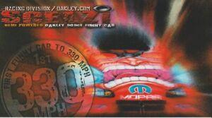 2004 Gary Scelzi Oakley Dodge Charger Funny Car NHRA postcard