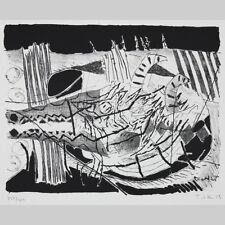 Heinz Trökes. Abstrakte Komposition. Lithografie 1959.
