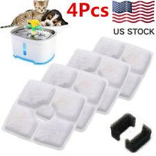 4Pcs Pet Automatic Water Fountain Filters for 2.5L Pet Cat Dog Dispenser Accs