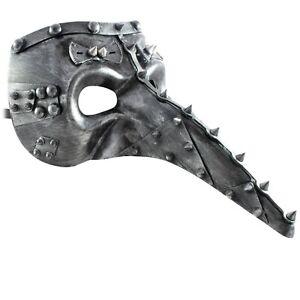 Steampunk MASQUERADE Mask | Long Nose MENS Mask | Fancy Dress FILIGREE PROM BALL