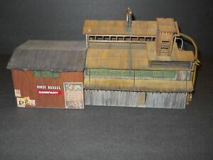 HO Scale Custom Wood Kit Mill / Factory Built
