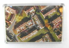 FRIDGE MAGNET - AERIAL PHOTOGRAPHY CUSTOM - Large Jumbo - Satallite Photo Map