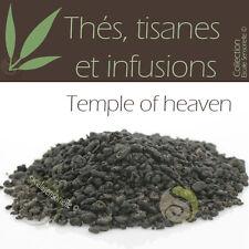 Thé vert Temple of heaven - Gunpowder - 50g Thé infusion tisane