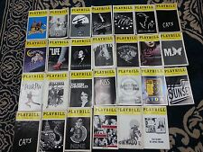 VINTAGE PLAYBILLS- LARGE COLLECTION OVER 150+ FAMOUS BROADWAY & FEW OFF-BROADWAY
