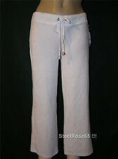 NEW Aeropostale Junior Girls White Terry Cropped Cover-up Pants Size XS X-Small