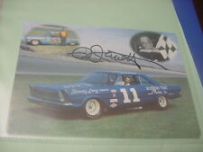 Ned Jarrett retirement ~ Hall of Fame~  Postcard  autographed