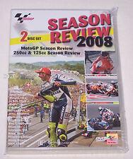MotoGP 250cc & 125cc 2008 Season Review 2 Disk DVD New
