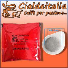 50 cialde carta ESE 44mm caffè CialdeItalia GRANCREMA -anche x Mokona e Tazzona