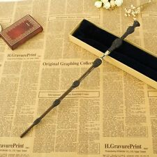 Wand Harry Potter Varita de Sauco Dumbledore Núcleo De Metal cosplay replica 1:1