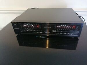 Technics SH-E65 Stereo Graphic Equalizer Spectrum Analyser boxed+cables