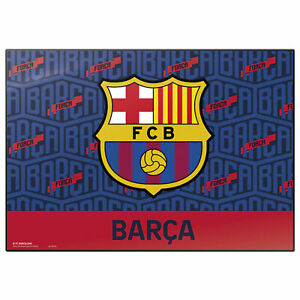 FC Barcelona - Club - Logo Schreibtischunterlage ca. 35x50 cm, abwischbar