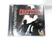 Contender Playstation 1 Game PS1 COMPLETE CIB Tested + Working!