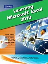 NEW with CD Learning Microsoft Office Excel 2010, Student Edition  Lisa Bucki