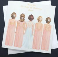 Beautiful Bride Tribe Wedding Card Bridesmaid/ Thank you for being my bridesmaid