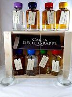 1 Baby Color Grappa MAZZETTI D'ALTAVILLA Distillerie 8 Bott. x 10 cl. 9% SCONTO