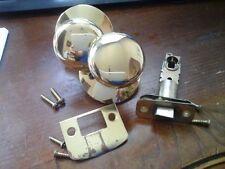SCHLAGE Bright Brass Passage Door Knob - Used